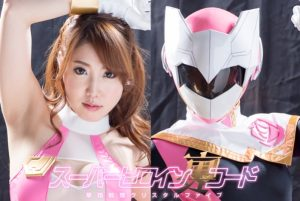 GIRO-85 Super Heroine Secret Code –Crystal Five- Rina Utimura