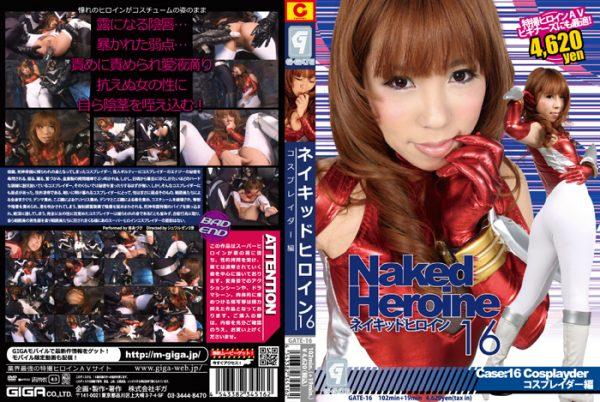 GATE-16 Naked Heroine 16 Phase 16 Cosplayder Azusa Anzu