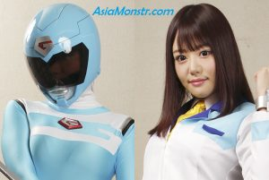 ZEXT-01 Damaging Heroine -Gaia Ranger -Failure of Stop Transformation System!!- Mao Hamasaki, Shijimi
