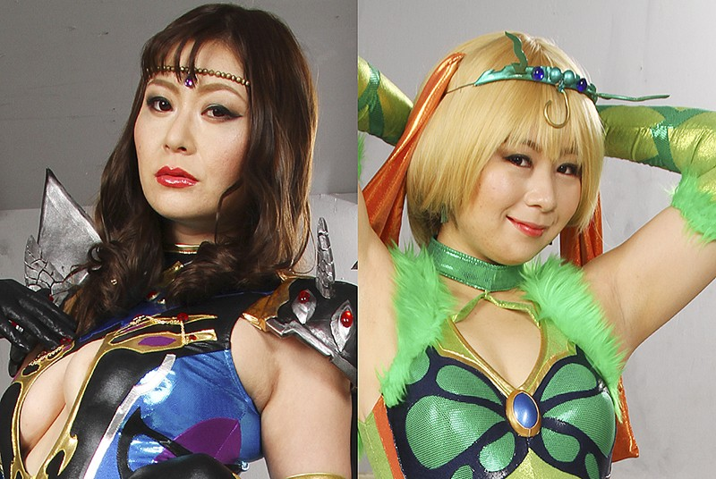 GHKR-38 Double Female Cadre VS Stallion Heroes Yurika Aoi, Nonoka Yano