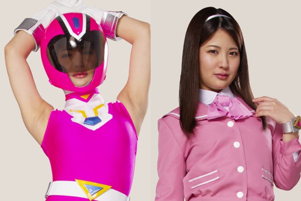 GHKR-60 Heroine VS High-Cut Mask -Cross Pink, Shameful Hugh-Cut Hell- Aoi Mizutani