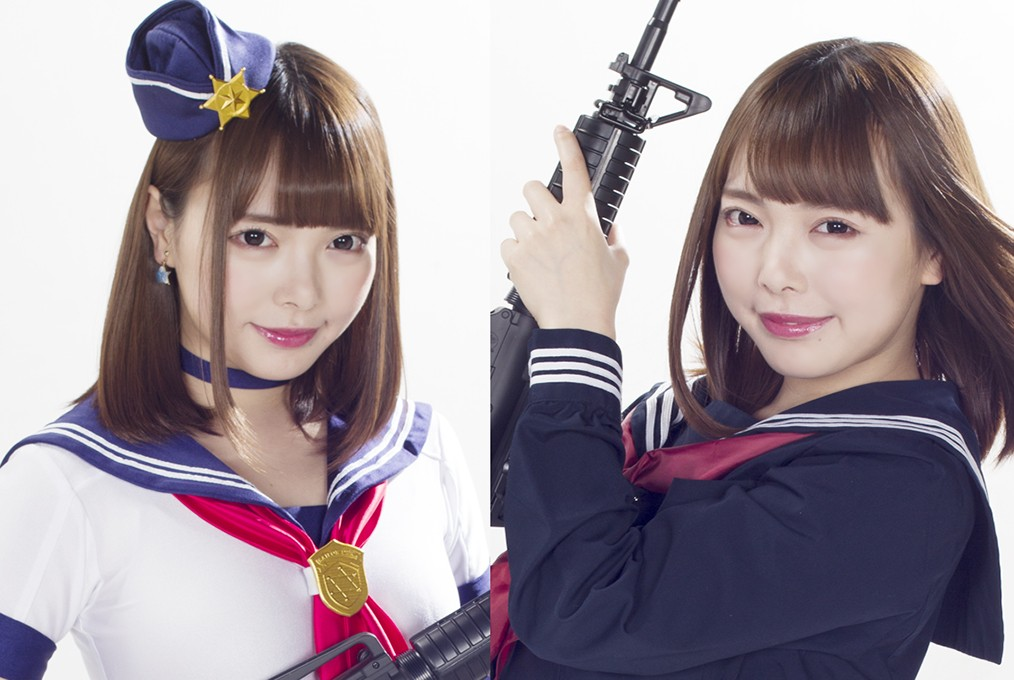 "GHLS-50 School Girl Detective and Kikan-Jyu ""Feelgood… I'll be a Fool Female Fighter"" ranran"