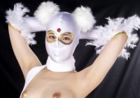 MNFC-16 Heroine Insult Club 16 White Mask Rei Hanamiya